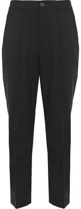 McQ Cropped Wool-twill Slim-leg Pants