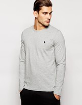Polo Ralph Lauren Grey Long Sleeve Top Regular Fit