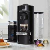 Crate & Barrel Nespresso ® Vertuo Deluxe Plus Black Coffee Maker Bundle