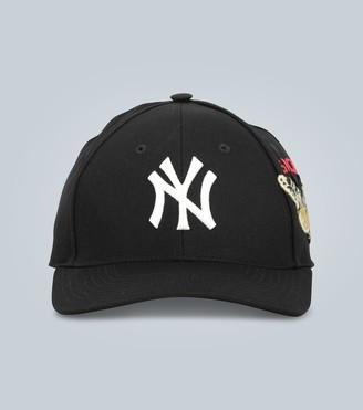 Gucci Baseball cap with NY Yankees patch