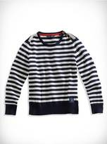 GUESS Striped Long-Sleeve Sweater (6-16Y)