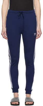 adidas Blue Cuffed Track Pants