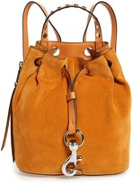 Rebecca Minkoff Blythe Small Suede Backpack