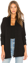Velvet by Graham & Spencer Dallas Cardigan in Black. - size M (also in S,XS)
