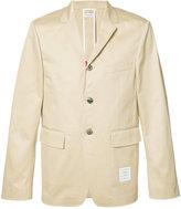 Thom Browne single breasted blazer - men - Cotton - 2