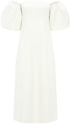 Mother of Pearl Dorothy Puff-Sleeve Dress