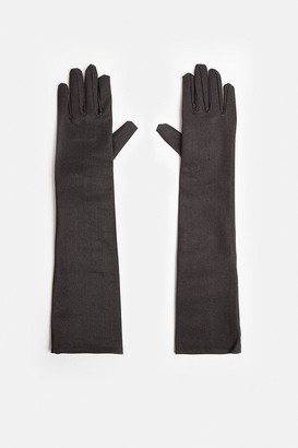Coast Halloween Long Satin Gloves