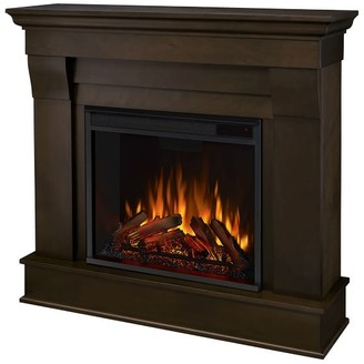 """Pottery Barn Real Flame 41"""" Chateau Electric Fireplace"""