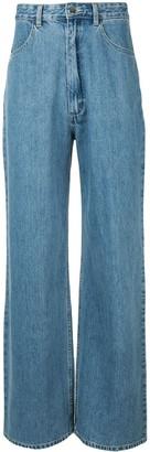 Ground Zero Wide-Leg Jeans