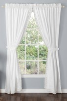 Laura Ashley Annabella White Curtain Panel - Set of 2