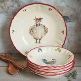 Sur La Table Jacques Pépin Collection Chickens Pasta Bowls, Set of 4