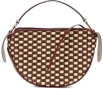 Wandler Yara Big woven shoulder bag