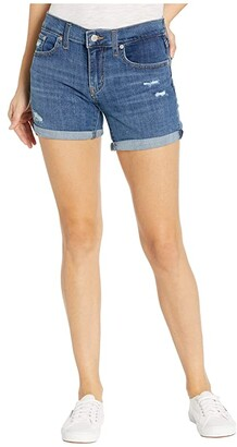 Levi's(r) Womens Mid Length Shorts (Black) Women's Shorts
