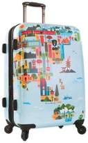 Heys FVT World Map 26-Inch Upright Spinner