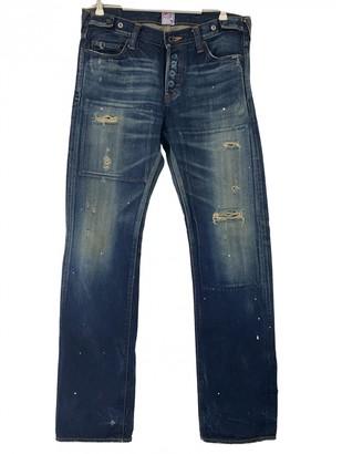 PRPS Navy Cotton Jeans