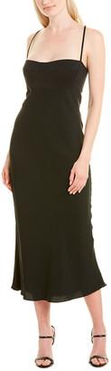 Mason by Michelle Mason Bustier Silk-Lined Midi Dress