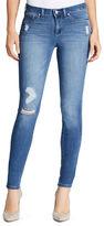Jessica Simpson Five-Pocket Distressed Denim Jeans