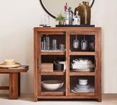 Pottery Barn Menlo Reclaimed Wood Cabinet Buffet