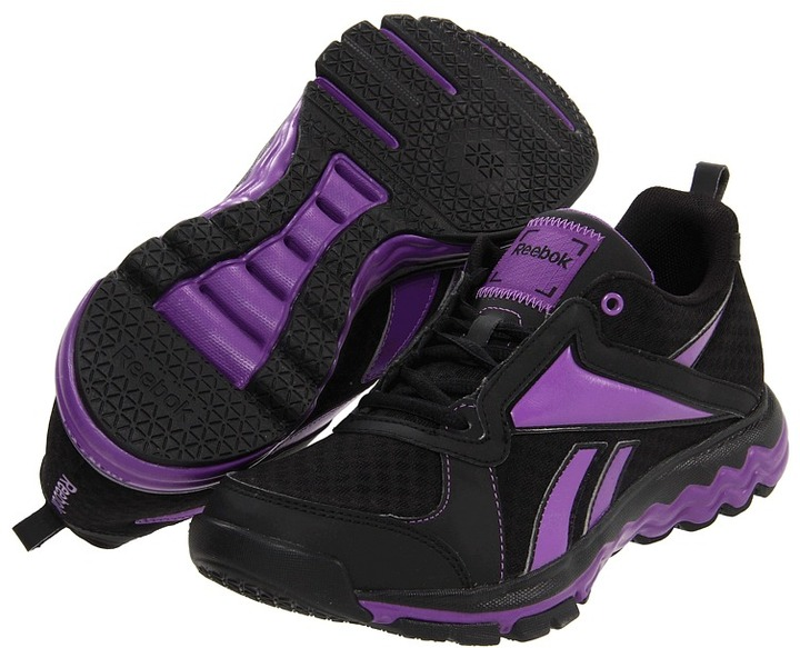 Reebok Fuel Gym Low (Black/Major Purple) - Footwear