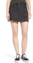 Levi's Women's Deconstructed Denim Skirt