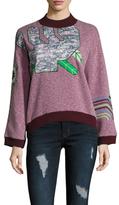 Vivienne Tam Cactus Applique Sweatshirt