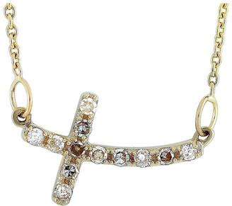 Non Branded Lb Exclusive 14K 0.12 Ct. Tw. Diamond Necklace