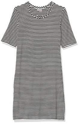 Vero Moda Women's VMYENG 2/4 Rib Short Dress Box JRS,(Size of : L)