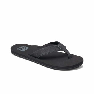 Reef Men's Sandal Twinpin |Comfortable Men's Flip Flop with Vegan Leather Upper