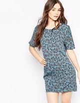Vila Boho Circle Print Shift Dress