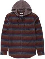 Billabong Men's Baja Hooded Flannel Shirt 8151893
