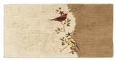 Avanti Gilded Birds Bath Rug - Ivory