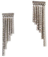 BCBGMAXAZRIA Cascading Fringed Stone Earrings