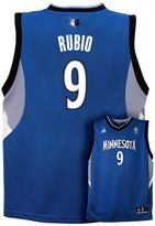 adidas Boys 8-20 Minnesota Timberwolves Ricky Rubio NBA Jersey