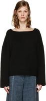 Isabel Marant Black Oversized Fly Sweater