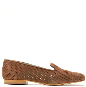 Blue Bird Shoes Saudade suede loafers