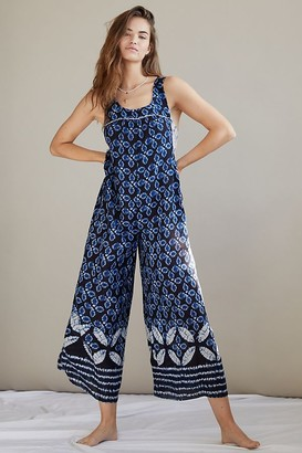 Anthropologie Camelia Wide-Leg Jumpsuit