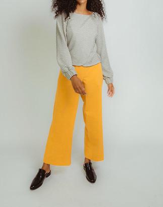 Madewell Madri Collection Wide-Leg Pants