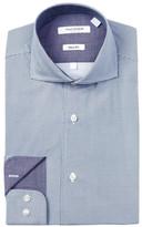 Isaac Mizrahi Neat Dot Slim Fit Dress Shirt