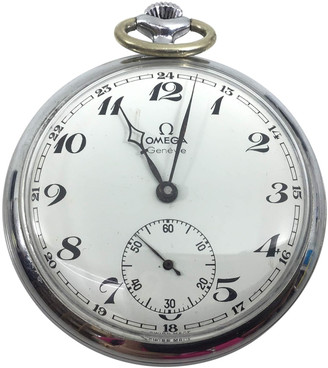Omega Grey Steel Watches