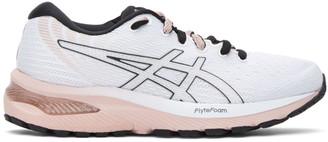 Asics White Gel-Cumulus 22 Sneakers