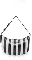 Nina Ricci Striped Kuti Shoulder Bag