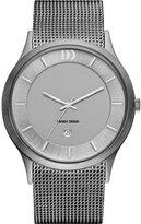 Danish Design Men's 44mm Steel Bracelet & Case Quartz Analog Watch IQ64Q1026