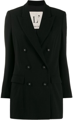 L'Autre Chose double-breasted oversized blazer