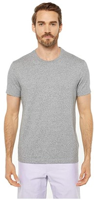 J.Crew Heritage Jersey Short Sleeve Marled No Pocket Tee (Marled Sky Blue) Men's Clothing