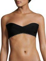 Herve Leger Embellished Bandeau Bikini Top