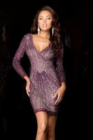 Scala Dress In Wine 47693