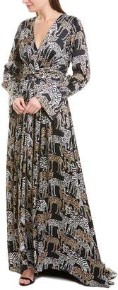 Prabal Gurung Jimili Silk Maxi Dress