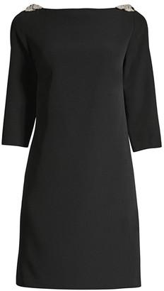 Trina Turk Eastern Luxe Gora Mini Shift Dress