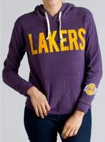 Junk Food Clothing Nba Los Angeles Lakers Pullover Hoodie-plum-s