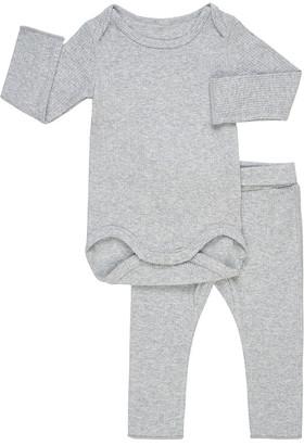 Bonds Pointelle Long Sleeve Bodysuit And Legging Set
